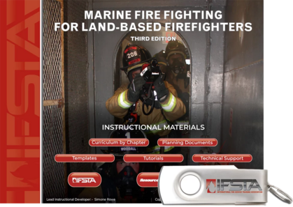 Marine Fire Fighting for Land Based Firefighters, 3rd Edition USB Curriculum