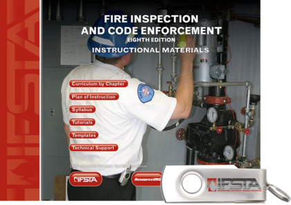 Fire Inspection and Code Enforcement 8th Edition, Curriculum (USB)