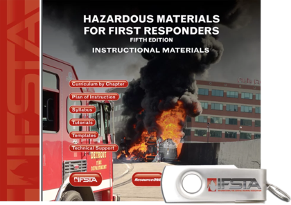 Hazardous Materials for First Responders, 5th Edition Curriculum USB Flash Drive