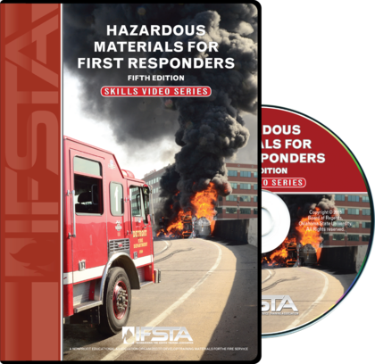 Hazardous Materials for First Responders, 5th Edition Skills Video Series DVD