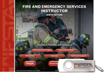 Fire and Emergency Services Instructor, 9th Edition Curriculum USB Flash Drive