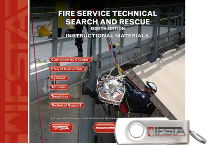 Fire Service Technical Search and Rescue, 8th Edition Curriculum USB Flash Drive