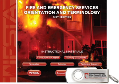 Fire & Emergency Services Orientation & Terminology, 6th Edition Curriculum USB Flash Drive
