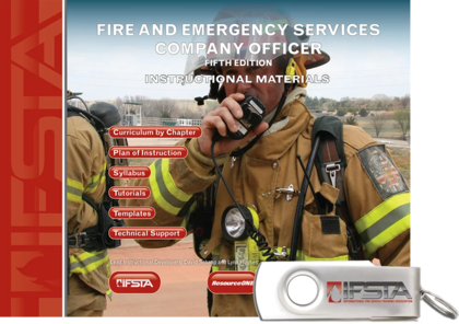 Fire and Emergency Services Company Officer, 5th Edition Curriculum USB Flash Drive