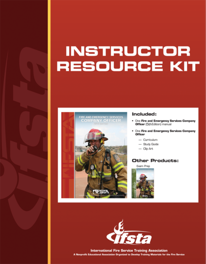 Fire and Emergency Services Company Officer, 5th Edition Instructor Resource Kit
