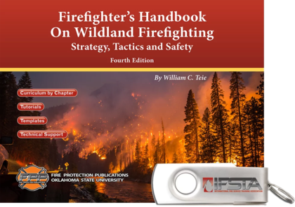 Firefighters Handbook on Wildland Firefighting, 4th Edition curriculum USB Flash Drive