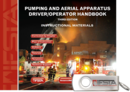 Pumping and Aerial Apparatus Driver / Operator, 3rd Edition Curriculum USB Flash Drive
