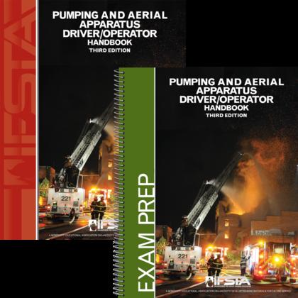 Pumping and Aerial Apparatus Driver Operator 3rd Manual & Exam Prep(print) Pkg