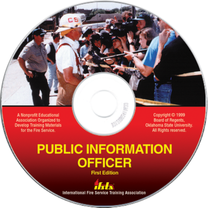 Public Information Officer, 1st Edition CD Rom