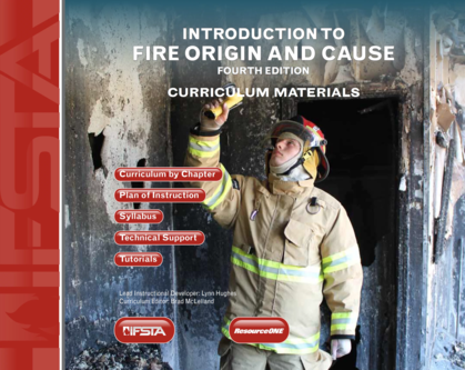 Introduction to Fire Origin and Cause, 4th Edition Curriculum USB Flash Drive