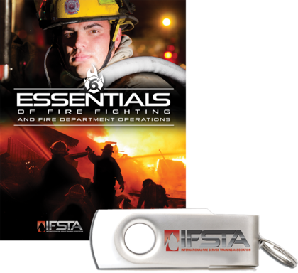 Essentials of Fire Fighting and Fire Department Operations, 6th Edition & Exam Prep(USB Flash Drive)