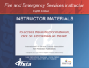 Fire and Emergency Services Instructor, 8th Edition Curriculum USB Flash Drive