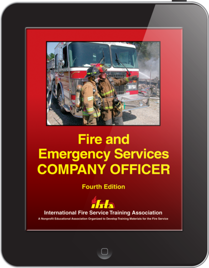 eBook Fire Emergency Services Company Officer 4th