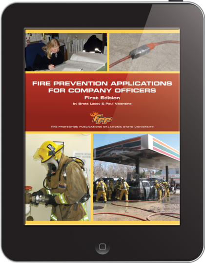 eBook Fire Prevention Applications for Company Officers, 1st Edition