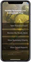 Hazardous Materials Technician 2nd Edition Exam Prep Plus App